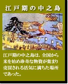 中之島 江戸時代