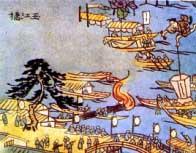 江戸時代の中之島