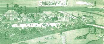明治時代の中之島