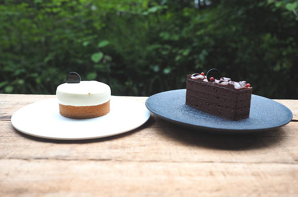 「ファントムはいい意味で野暮ったいケーキ。」と、吉田さん。通年出しているケーキは少ないそうです。