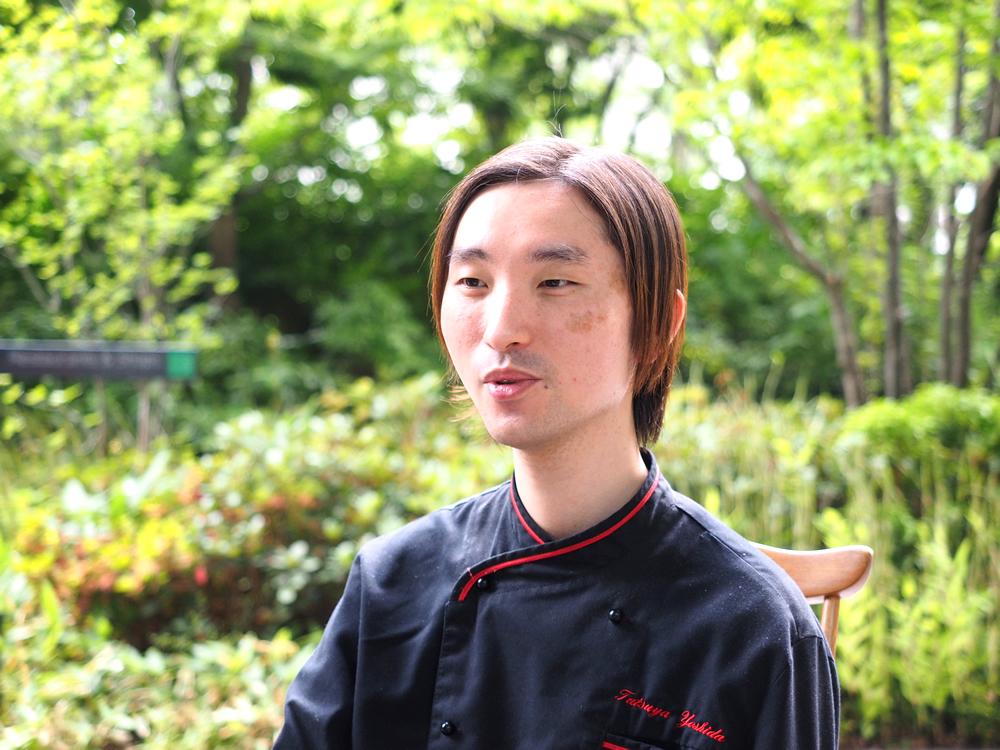 吉田さんがパティシエになった理由は、「人を喜ばせる仕事がしたかったから」。