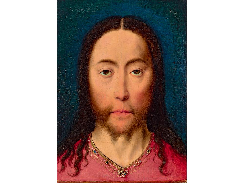 「キリストの頭部」ディーリク・バウツ / 1470年頃 / Museum BVB, Rotterdam, the Netherlands