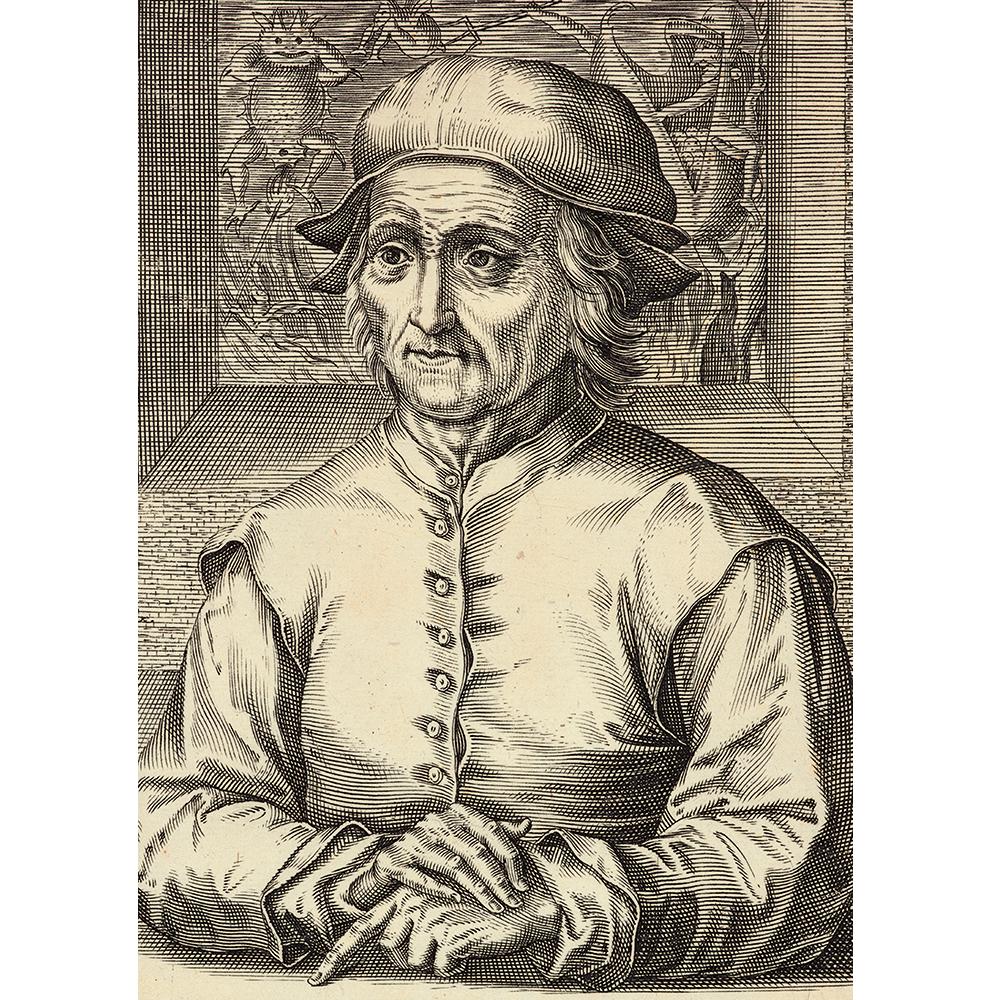 「ヒエロニムス・ボスの肖像」(部分)/  ヘンドリック・ホンディウス1世 / 1610年 / Museum BVB, Rotterdam,  the Netherlands