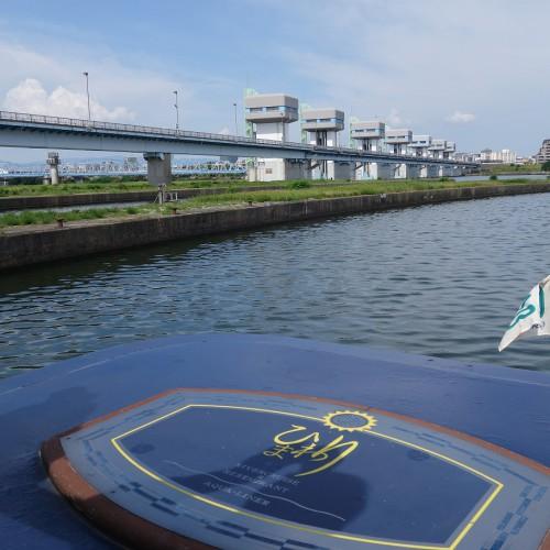 <淀川浪漫紀行>淀川をクルーズ船で上ってみた