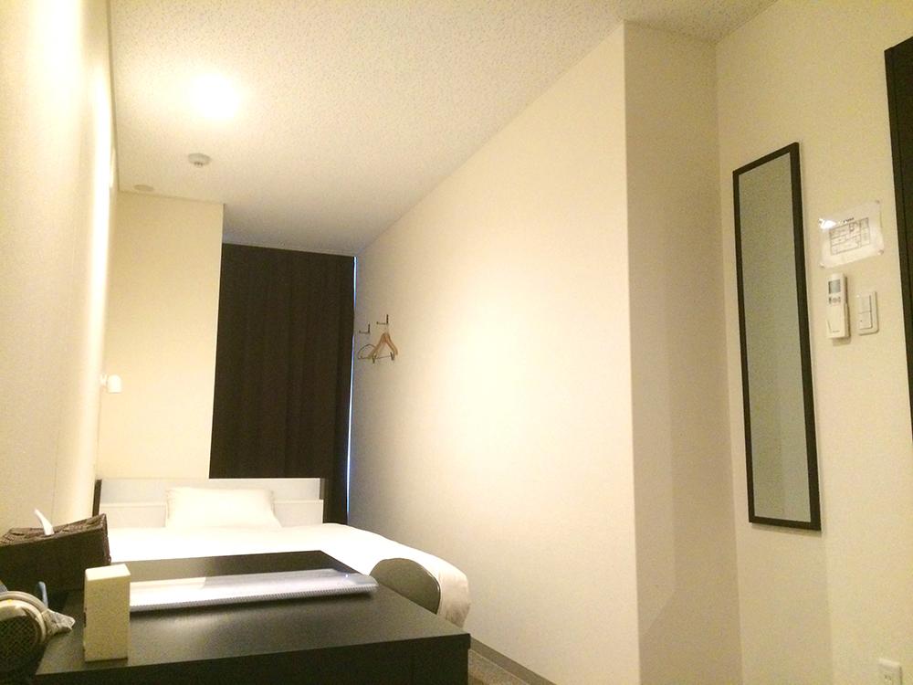 一人、ゆったりできる個室(提供:AZ HOSTEL)