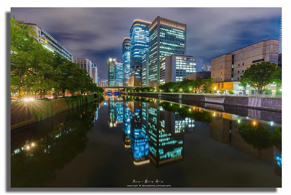 作品名:中之島夜景 / 撮影場所:御堂筋 / 撮影者:quanghung_photoさん