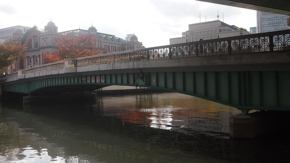 鉾流橋 橋長:98.04m/幅員:12.5m/形式:桁橋/完成:1929年